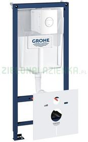 Grohe Rapid SL 39451000GROHE stelaż podtynkowy z przyciskiem spłukującym do miski wiszącej