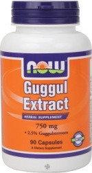 Now Foods Guggul Extract 90 szt.