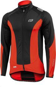 Force X68 - 89985 - męska, ocieplana bluza rowerowa - kolor: Czarno-czerwony