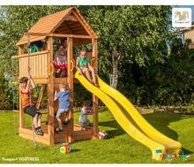 Fungoo Pinio Plac zabaw dla chłopca i dziewczynki FORTRESS 03160