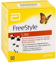 Abbott Freestyle Lite paski testowe bez kodowania GmbH & Co. KG Di 00435991
