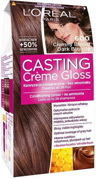 Loreal Casting Creme Gloss 600 Ciemny Blond