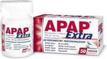 US Pharmacia Apap Extra 500mg + 65mg 50 szt.