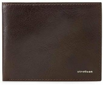 Strellson Duży portfel męski - Billfold H8 4010001301 D.brązowy 702