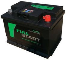 Full Start FS60P 12V 60Ah / 540A P+