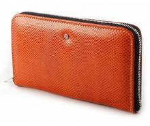 Wojewodzic portfel damski Swarovski Elements - pomarańczowy WPD66/PC15