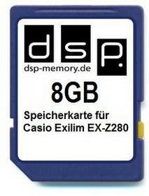DSP Memory parent for Casio Exilim EX-Z280 8 GB 4051557406117