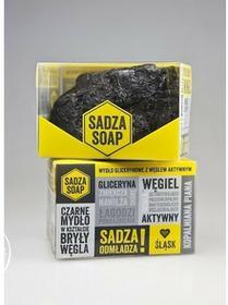 Falami SADZA SOAP Mydło w kostce z węglem aktywnym ze Śląska 130g