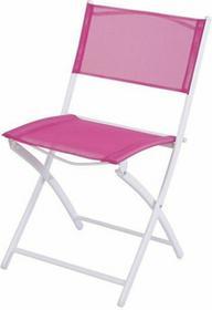 Składane krzesło ogrodowe - różowy