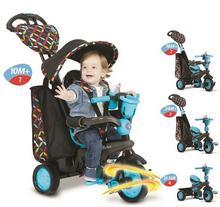 Smart Trike Boutique 4w1 pojazd/rowerek niebieski