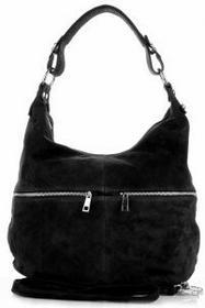 Genuine Leather Uniwersalne Włoskie Torebki Skórzane Czarna (kolory) 8309cz