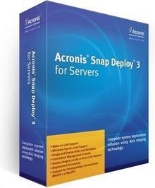 Acronis Snap Deploy 3 Server