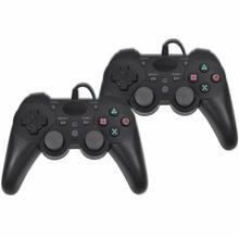 vidaXL 2 przewodowe kontrolery do gier PS3