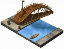 Smily Play Most obrotowy Leonardo da Vinci - model do samodzielnego składania BA
