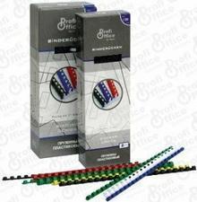 ProfiOffice Grzbiety/SPIRALE do bindowania CZARNE 12 mm plastikowe 100 szt 60932