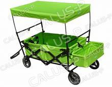 Wózek transportowy Zielony- składany