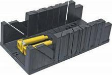 Topex Skrzynka uciosowa plastikowa 320 x 120 x 75 mm, z zaciskami 10A848