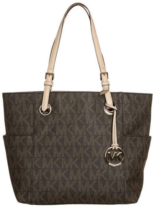 Michael Kors MICHAEL JET SET torba na zakupy brown 30S11TTT4B