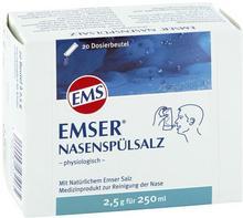 Emser naturalna sól emska do sporz. roztworu do nosa SIEMENS & Co GmbH & Co. KG 20 szt.