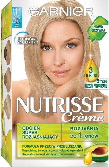 Garnier Nutrisse Creme 111 Bardzo jasny popielaty blond