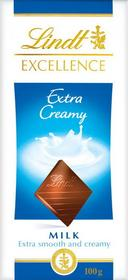 Lindt Excellence Extra Creamy 100g