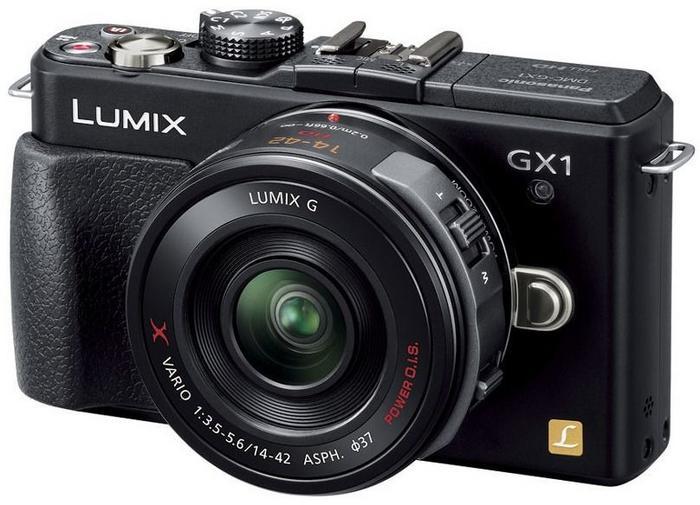 Panasonic DMC-GX1X + 14-42 Power Zoom czarny