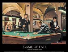 Monroe, Dean, Presley (Chris Consani) - Obraz, reprodukcja
