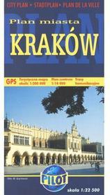 praca zbiorowa Kraków. Plan miasta 1 : 22 500