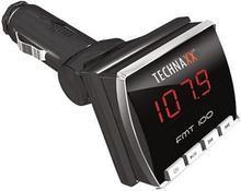 TechnaxxFMT 100 FM Transmitter - Transmiter FM + MP 3 906