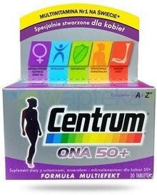 PFIZER CORPORATION AUSTRIA GMBH CONSUMER HEALTHCAR Centrum Ona 50+ witaminy i minerały dla kobiet 30 tabletek 3214941