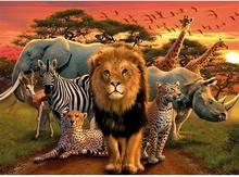 Ravensburger Afrykańskie Zwierzęta 141777