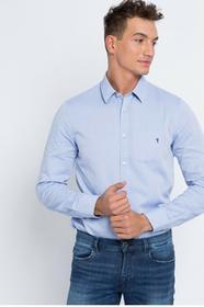 Trussardi Jeans Koszula 52C35XX jasny niebieski