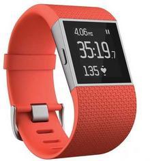 Fitbit Surge Large Pomarańczowy