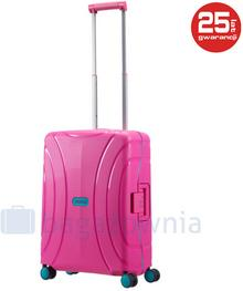 Samsonite AT by Mała kabinowa walizka AT LOCK'N'ROLL 68601 Różowa - różowy