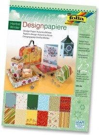 Folia Blok papierów do scrapbookingu Design Papier A4 HERBST / WINTER 11349