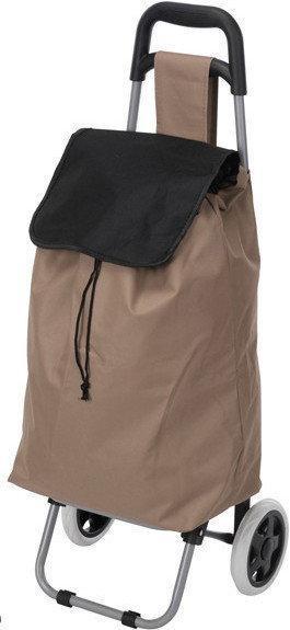 Wózek na kółkach, torba na zakupy - beżowy DW2190990-beĹźowy