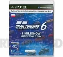 SONY Gran Turismo 6 - 1 milion kredytów
