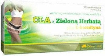 Olimp CLA & Zielona Herbata + L-karnityna 60 kaps.