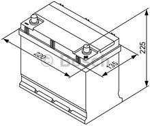 BOSCH Akumulator rozruchowy, S3, 0 092 S30 160  0092S30160