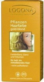 Logona roślinna złoty blond