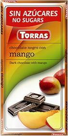 Torras Czekolada gorzka z mango 75g