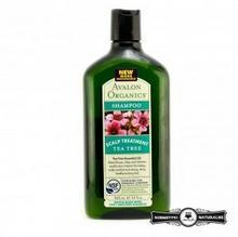 Avalon Organics Szampon do podrażnionej skóry głowy z olejkiem z drzewa herbacianego 325ml