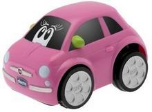 Chicco Samochodzik Fiat 500 Turbo Touch różowy