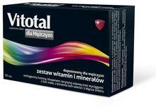 AFLOFARM Farmacja Polska Sp. z o VITOTAL dla Mężczyzn 30 tabletek