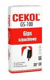 Cekol GS-100 Gips szpachlowy 20 kg