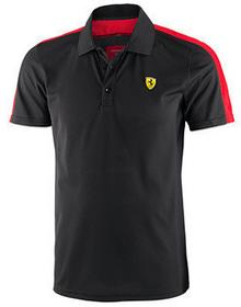 Ferrari F1 Polo model Sports Polo - Black