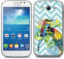 Etuo.pl Fantastic Case - Samsung Galaxy Grand Neo - etui na telefon Fantastic Case - barwne papugi ETSM039FNTCFC122000
