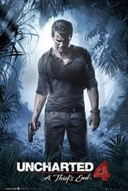 Uncharted 4 A Thiefs End Plakat
