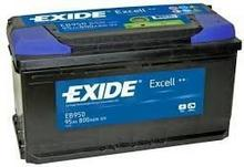 Exide Excell 95Ah 800A EB950 P+