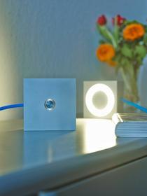 Tecnolumen Square Lampa dekoracyjna LED Aluminium, 1-punktowy - Nowoczesny - Obszar wewnętrzny - Square - Czas dostawy: od 8-12 dni roboczych MLON 12 bl
